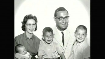 Jack and Family in the '60s. Screen Cap from The Emperor of Hemp by Hempoil.com