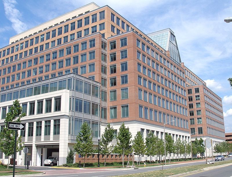Patent and Trade Office headquarters in Alexandria, Virginia
